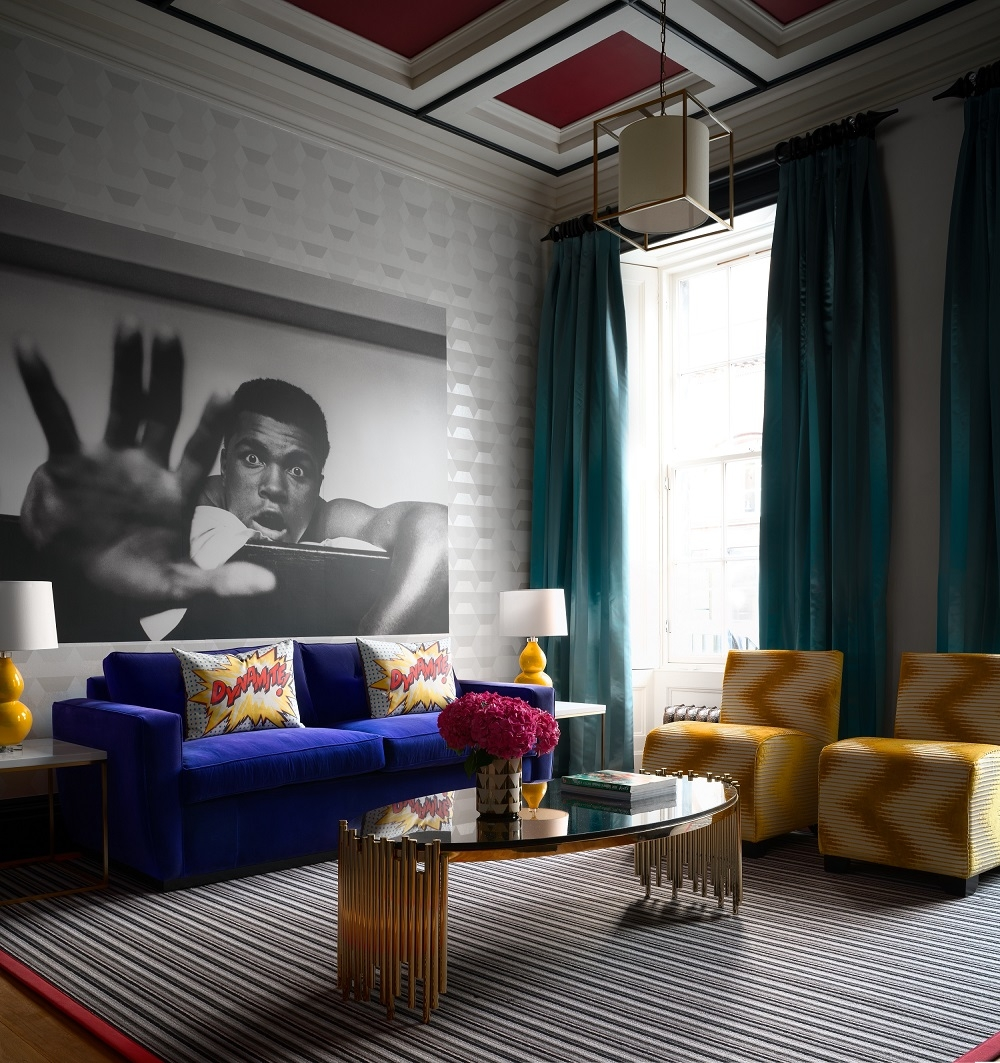 Jeffreys Interiors: Rutland Hotel Serviced Apartments, Edinburgh. Images courtesy of ZAC and ZAC Photography